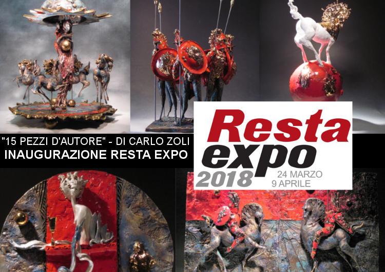 inaugurazione Resta Expo 2018