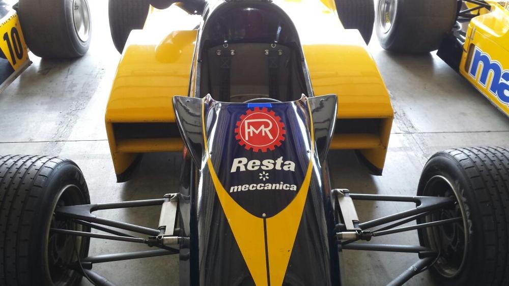 Resta Sponsor für Minardi Formula 1